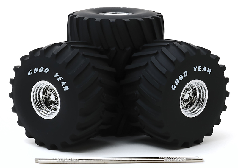 13547 - Greenlight Diecast Goodyear 66 Inch Monster Truck Wheel and