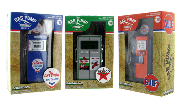 14020-SET-SP - Greenlight Diecast Vintage Gas Pump Collection Series 2 3