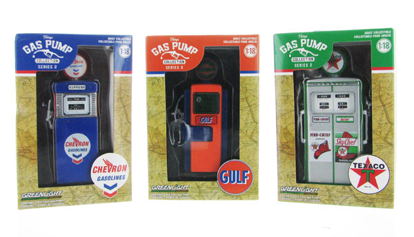 14020-SET-SP2 - Greenlight Diecast Vintage Gas Pump Collection Series 2 3