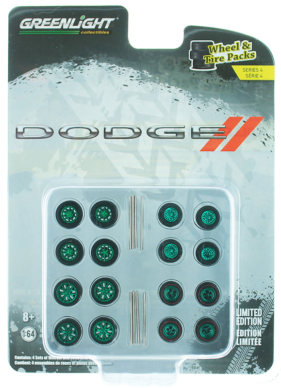 16070-B-SP - Greenlight Diecast Dodge Auto Body Shop Wheel and Tire