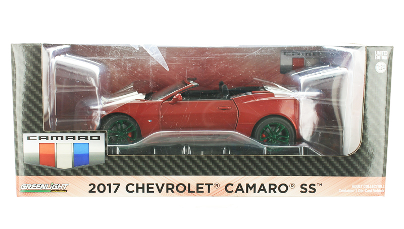 18245-SP - Greenlight Diecast 2017 Chevrolet Camaro Convertible