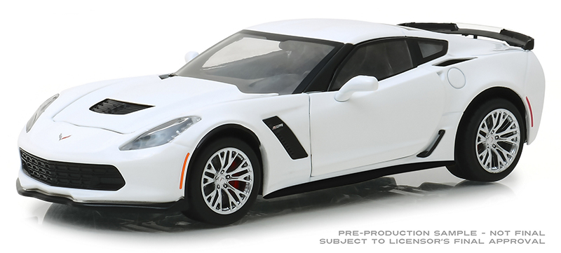 18250 - Greenlight Diecast 2019 Chevrolet Corvette Z06 Coupe