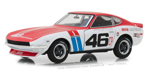 18301 - Greenlight Diecast BRE 46 1970 Datsun 240Z Brock Racing