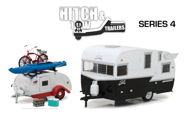 18440-CASE - Greenlight Diecast 1 24 Hitch and Tow Trailers Series