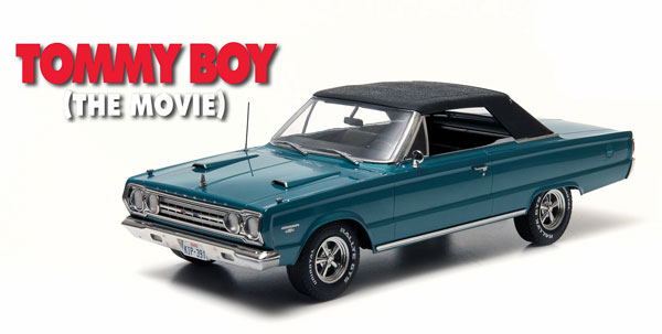 19005 - Greenlight Diecast 1967 Plymouth Belvedere GTX Convertible from Tommy