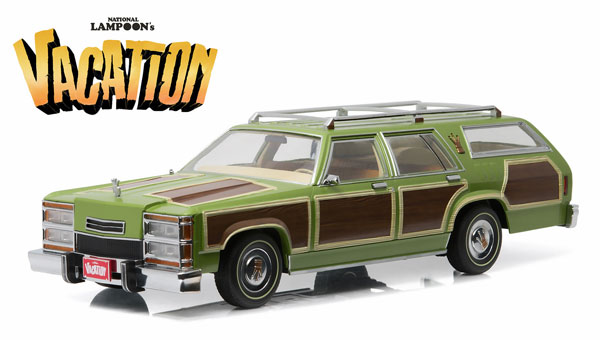 19013 - Greenlight Diecast 1979 Family Truckster Wagon Queen National Lampoons