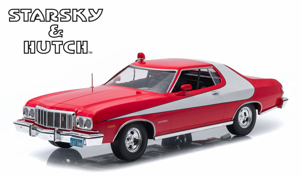 19017 - Greenlight Diecast 1976 Ford Gran Torino Starsky and Hutch