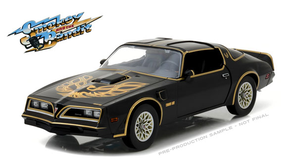19025 - Greenlight Diecast 1977 Pontiac Firebird Trans Am Smokey and