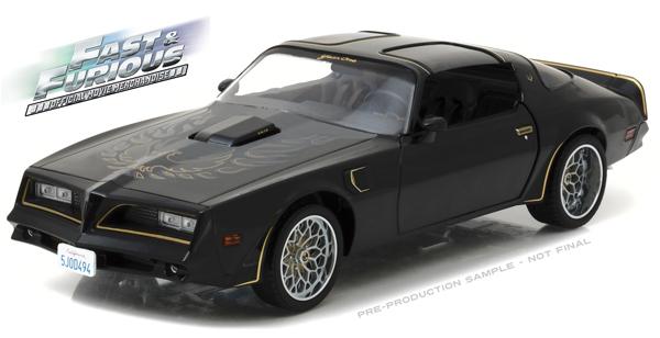 Fast and Furious Tegos 1978 Pontiac Firebird T//A 1:18 Scale Greenlight 19026