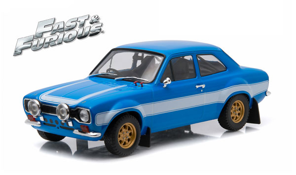 19038 - Greenlight Diecast 1974 Ford Escort RS2000 MK1 Fast and