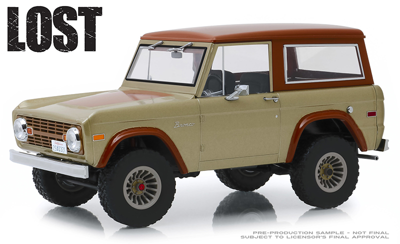 19057 - Greenlight Diecast 1970 Ford Bronco LOST TV Series 2004