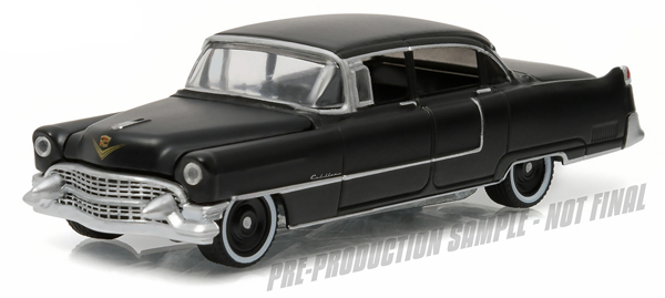 27860-A - Greenlight Diecast 1955 Cadillac Fleetwood Series 60 Special Black