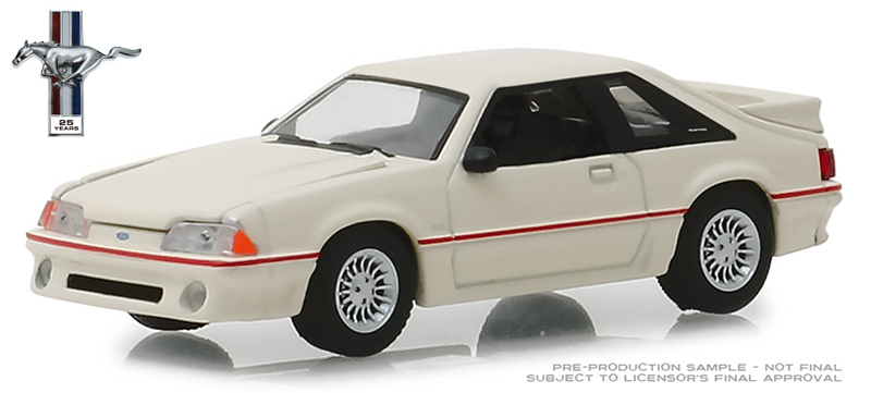 27970-E - Greenlight Diecast 1989 Ford Mustang 50 25 Years Anniversary