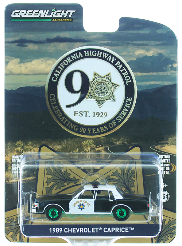 NG97 Greenlight California Highway Patrol 1989 Chevrolet Caprice