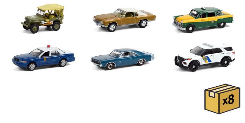 28060-MASTER - Greenlight Diecast Anniversary Collection Series 12 48 Piece Assortment