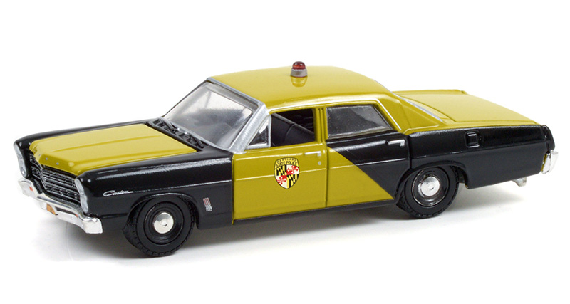 28080-A - Greenlight Diecast Maryland State Police 1967 Ford Custom Maryland