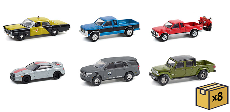 28080-MASTER - Greenlight Diecast Anniversary Collection Series 13 48 Piece Assortment