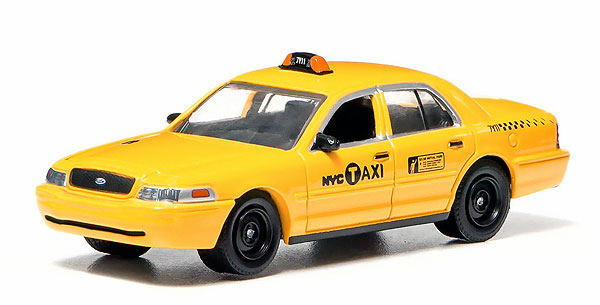 29773 - Greenlight Diecast NYC Taxi 2011 Ford Crown Victoria Authentic