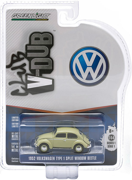 29790-C - Greenlight Diecast 1952 Volkswagen Type 1 Split Window Beetle
