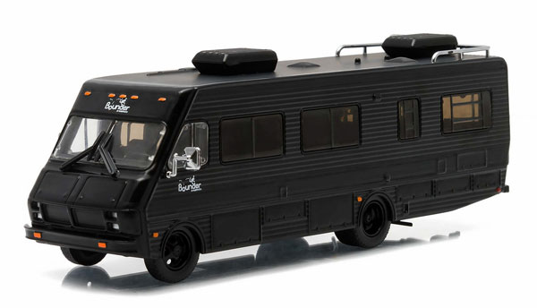 29845 - Greenlight Diecast 1986 Fleetwood Bounder Black Bandit Collection Hobby