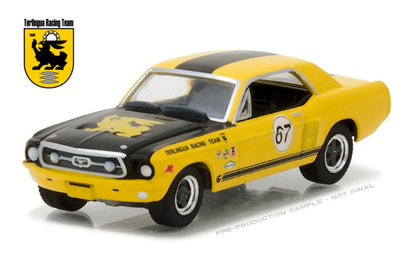 29876 - Greenlight Diecast 1967 Ford Terlingua Continuation Mustang 67 Jerry
