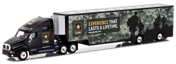 29882 - Greenlight Diecast US Army Kenworth T2000 Hauler Hobby Exclusive