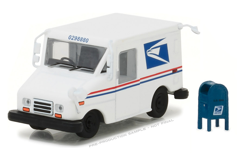 29888 - Greenlight Diecast USPS Long Life Postal Delivery Vehicle LLV