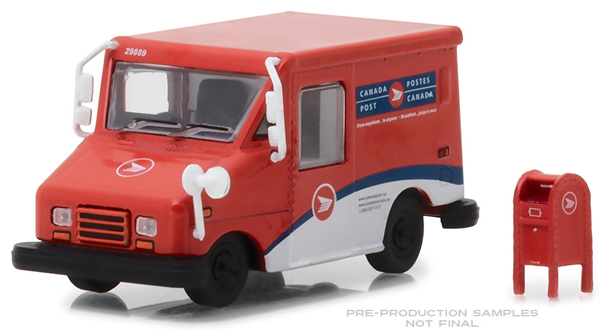 29889 - Greenlight Diecast Canada Post Long Life Postal Delivery Vehicle