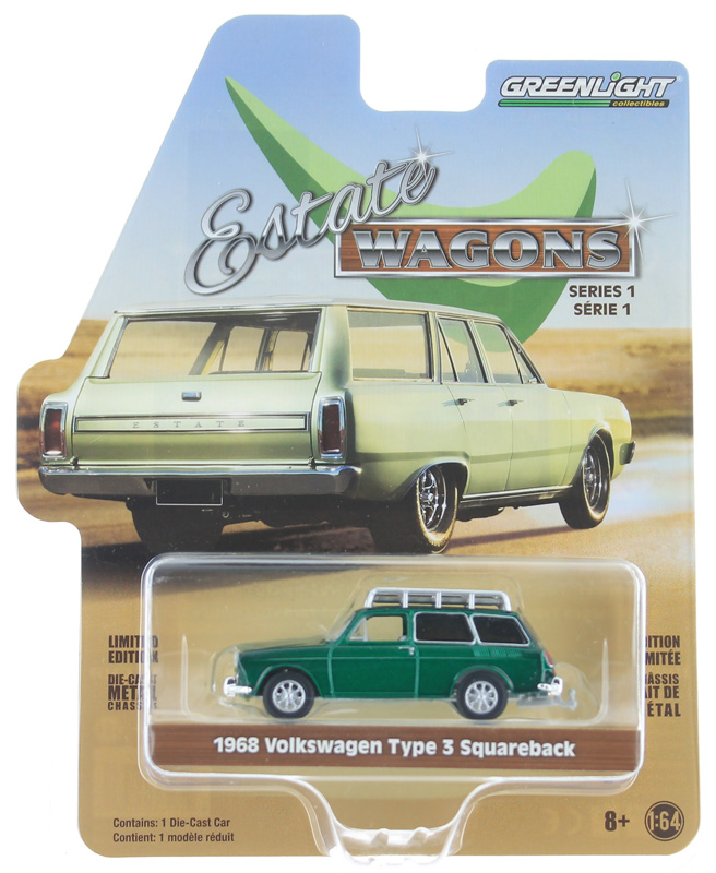 29910-D-SP - Greenlight Diecast 1968 Volkswagen Type 3 Squareback Panel