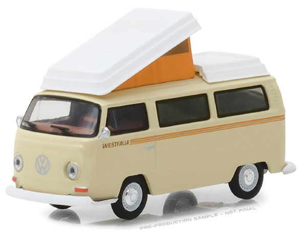29920-F - Greenlight Diecast 1972 Volkswagen Type 2 Campmobile Club V