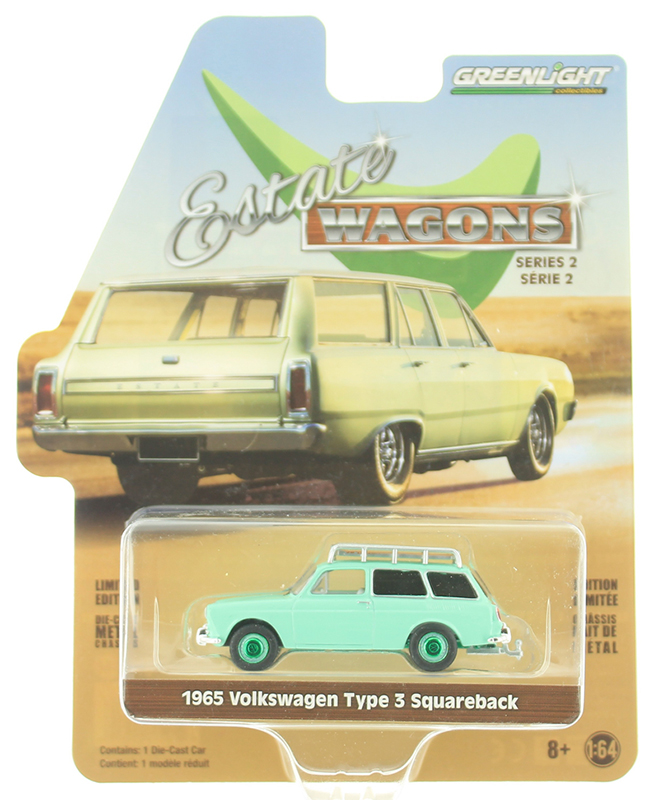 29930-C-SP - Greenlight Diecast 1965 Volkswagen Type 3 Squareback