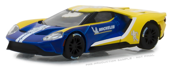 29945 - Greenlight Diecast Michelin Tires 2017 Ford GT Hobby Exclusive