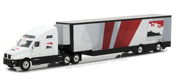 29951 - Greenlight Diecast IndyCar 2018 Kenworth T2000 Transporter Hobby Exclusive