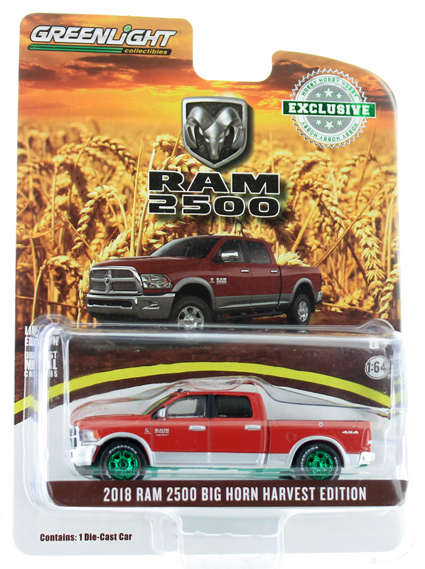 29953-SP - Greenlight Diecast 2018 RAM 2500 Big Horn Harvest Edition