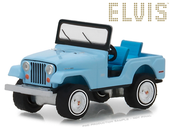 29955 - Greenlight Diecast Jeep CJ 5