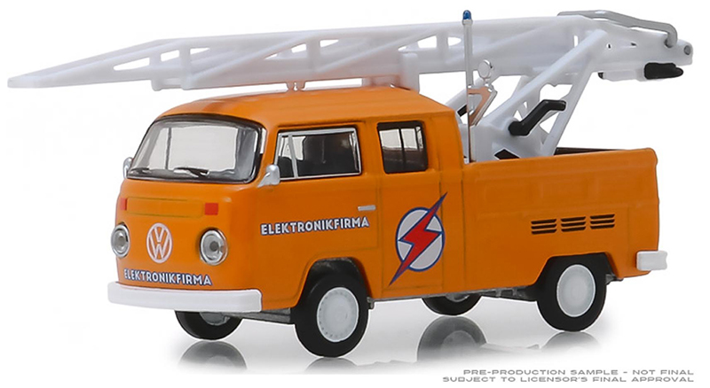 29960-D - Greenlight Diecast 1972 Volkswagen Type 2 Double Cab Pickup