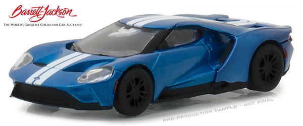 29964 - Greenlight Diecast 2017 Ford GT 2018 Barret Jackson Scottsdale