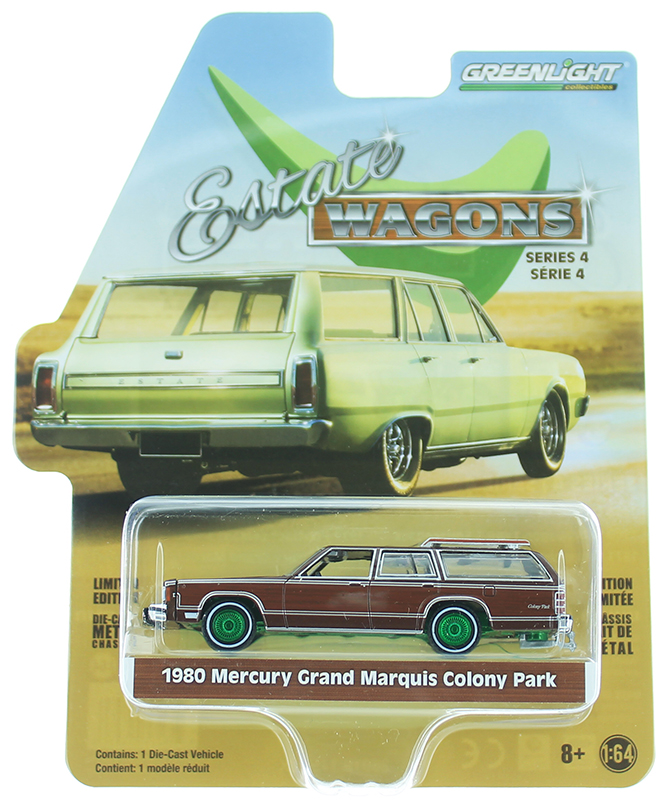 29970-F-SP - Greenlight Diecast 1980 Mercury Grand Marquis Colony Park SPECIAL