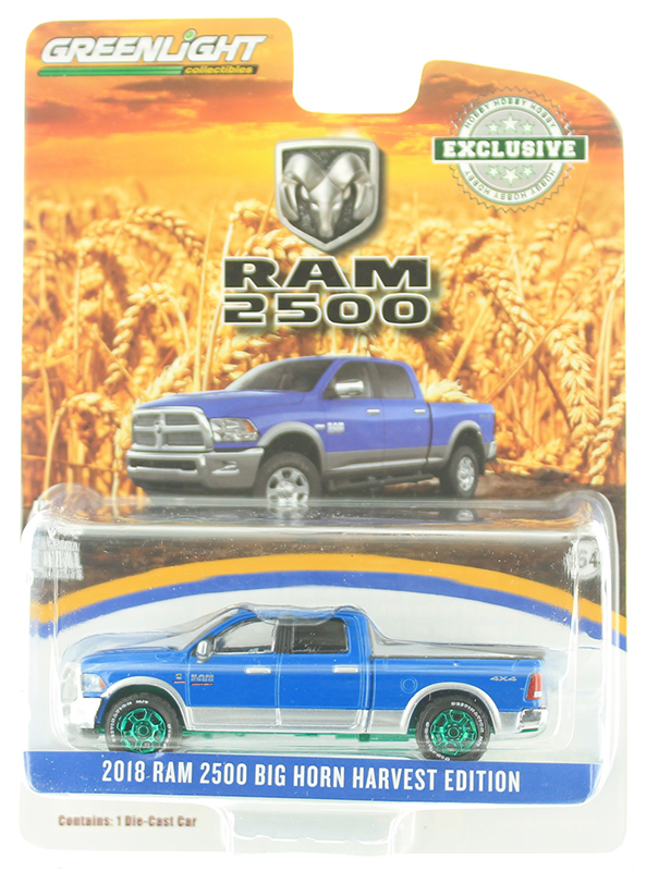29973-SP - Greenlight Diecast 2018 Ram 2500 Big Horn