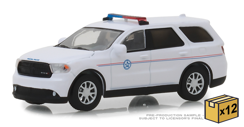 29993-CASE - Greenlight Diecast USPIS 2018 Dodge Durango United States Postal