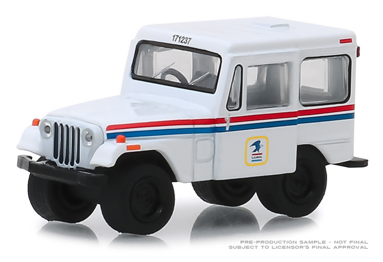 29997 - Greenlight Diecast United States Postal Service 1971 Jeep DJ