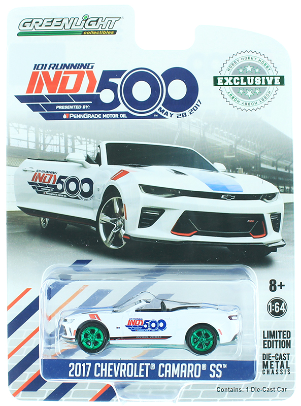 30003-SP - Greenlight Diecast 2017 Chevrolet Camaro Convertible SS Indy 500