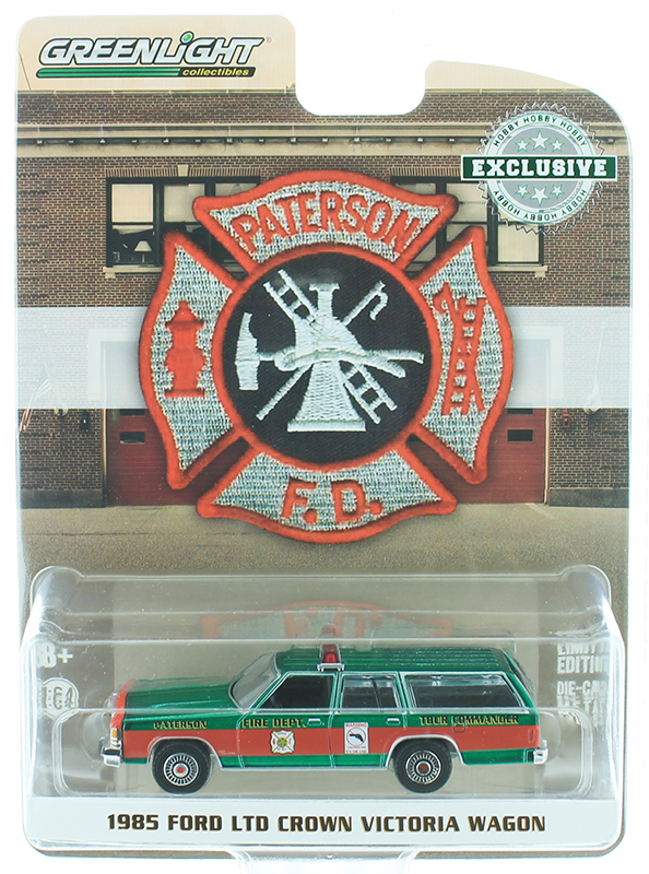 30024-SP - Greenlight Diecast Patterson New Jersey Fire Department 1985 Ford