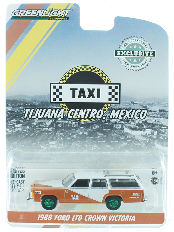 30026-SP - Greenlight Diecast Taxi 1988 Ford LTD Crown Victoria Wagon