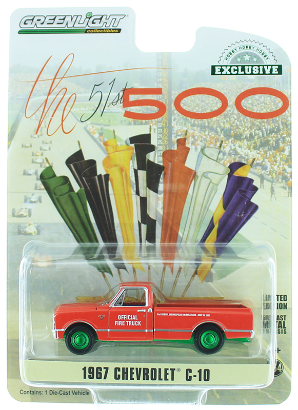30030-SP - Greenlight Diecast 1967 Chevrolet C 10 51st Annual Indianapolis