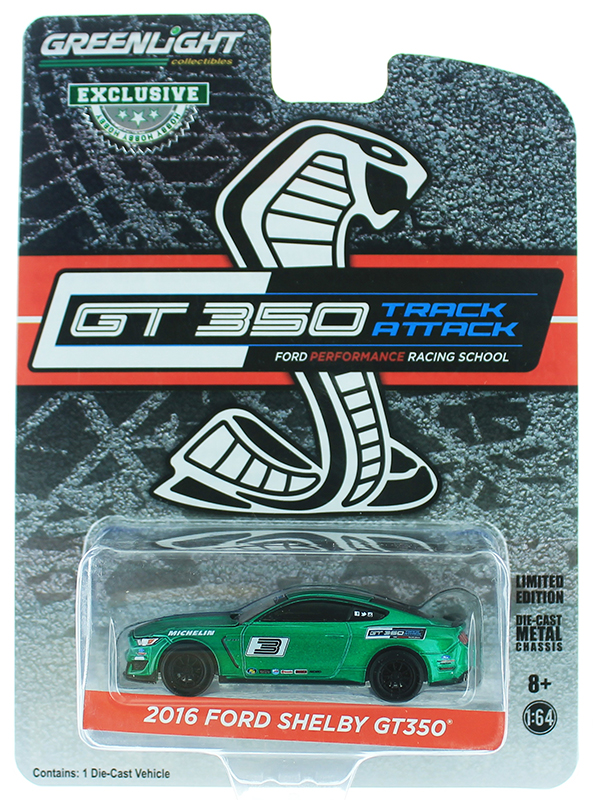 30053-SP - Greenlight Diecast 2016 Ford Mustang Shelby GT350 Ford Performance