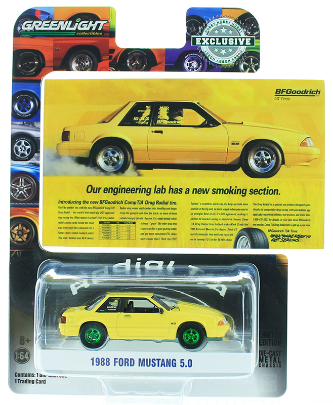 30062-SP - Greenlight Diecast 1988 Ford Mustang 50 Our Engineering Lab