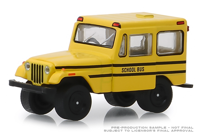 30065 - Greenlight Diecast 1974 Jeep DJ 5 School Bus Hobby