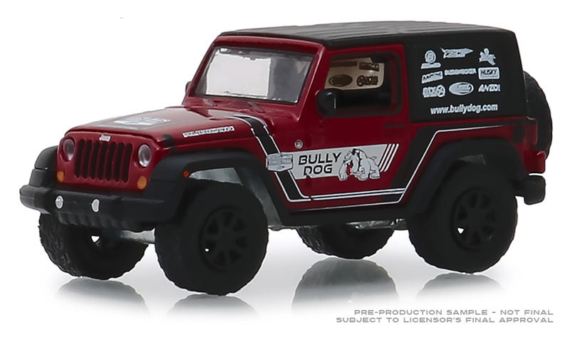 30086 - Greenlight Diecast Bully Dog 2012 Jeep Wrangler Hobby Exclusive