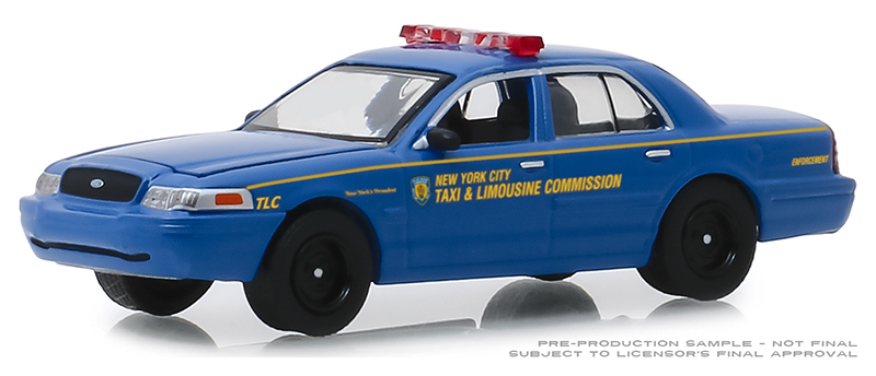 30092 - Greenlight Diecast 2006 Ford Crown Victoria Taxi New York